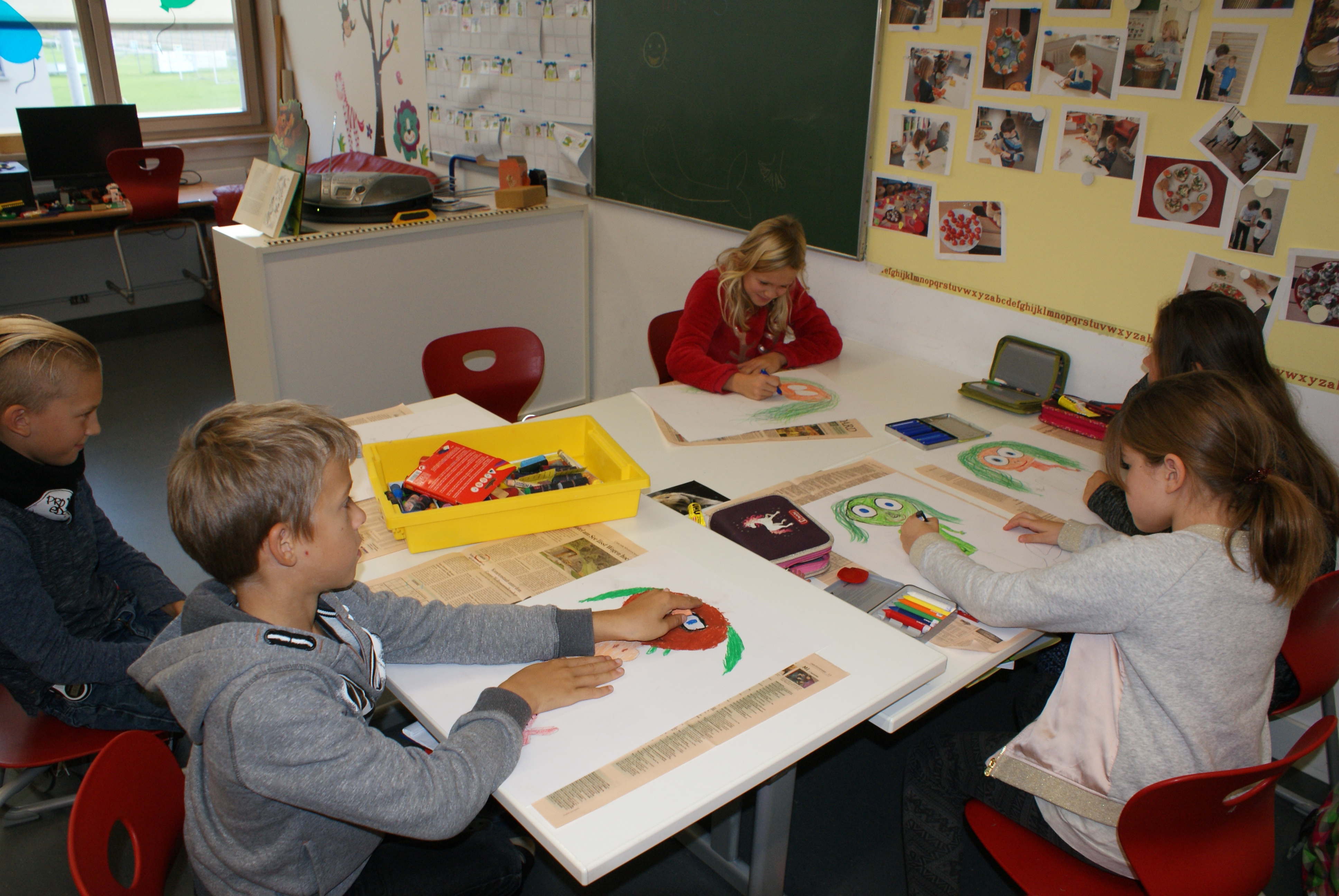 Atelierunterricht - Atelier: Fernitz- Mellach im Spiel