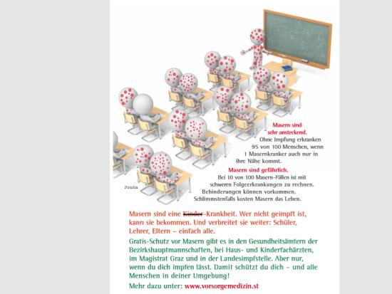 Volksschule Mitterdorfraab Masern Mumps Röteln Gratis Vorsorgeimpfung